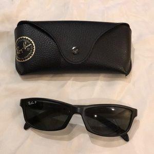 RayBan Black Sunglasses W/Case